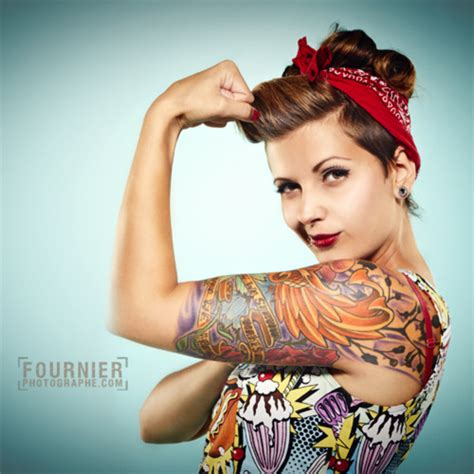 tattoo girl hairstyles strong women can date too