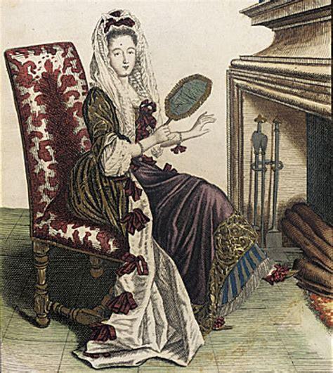 robe de chambre en ca 1685 femme de qualite en robe de chambre d hyver grand gogm