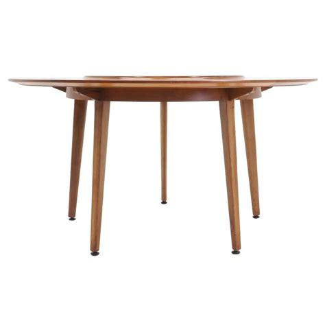 edward wormley for dunbar lazy susan dining table at