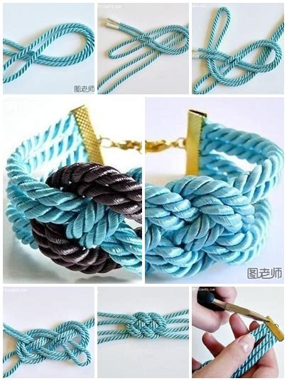 How To Make String Step By Step - how to make colorful string bracelet step by step diy