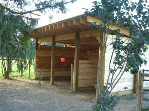 horse shelter ideas  pinterest quick diy