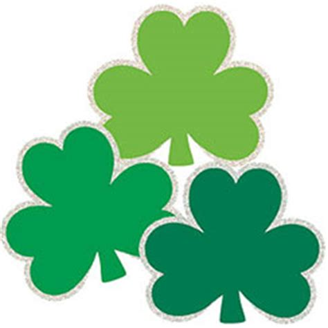Shamrock Decorating by St Patrick S Day Decorations Banners Flags Delights