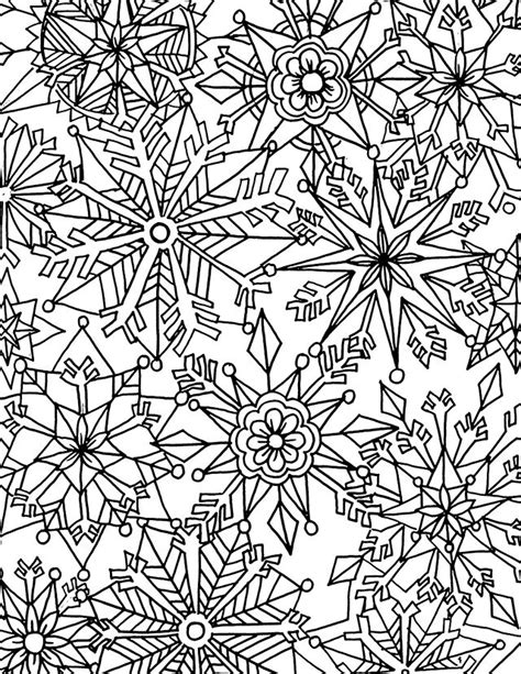 advanced snowflake coloring pages alisaburke downloads for you prints to color