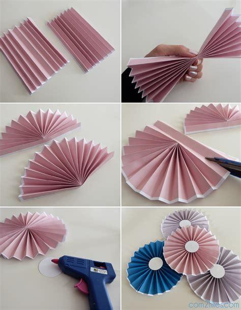 Papier Decoration by Diy Le Tuto Des Rosaces En Papier Niveau Facile