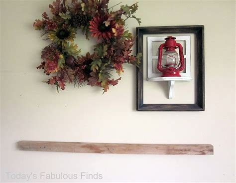 How To Hang A Mantel Shelf by Today S Fabulous Finds Diy Mantel Shelf And How To Hang It