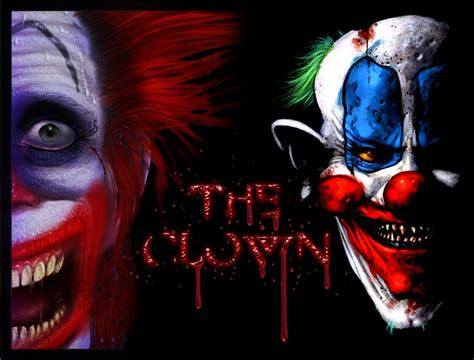 the clown the scary clown by bl00dg0d on deviantart