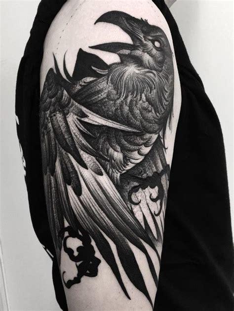 raven tattoo pinterest 25 beautiful crow tattoos ideas on pinterest raven