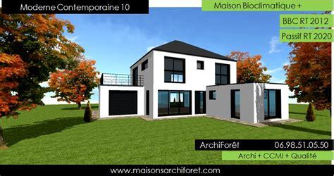 Moderne Villa by Maison Contemporaine Moderne Et Design D Architecte