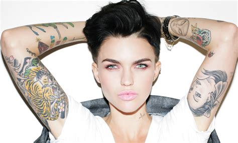 ruby rose tattoos why can tattoos and still be beautiful