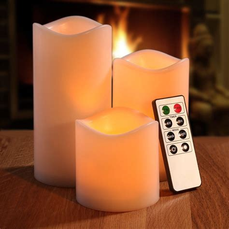 Free Led Candles 3 Pcs With Remote White buy wholesale wireless candles from china wireless