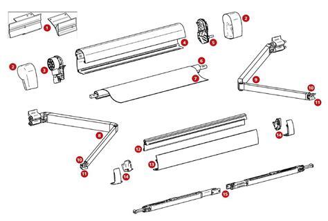 ersatzteile markise montage adapterplatten t5 thule ersatzteil nr 307993