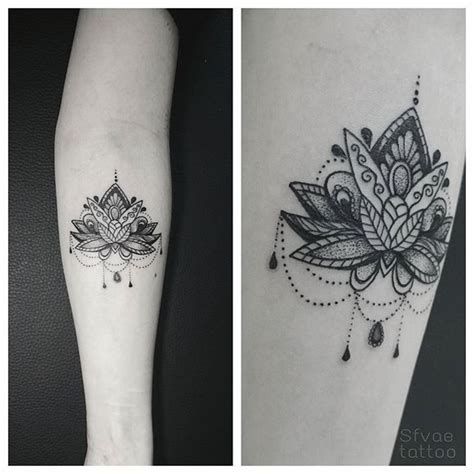 tattoo lotus mandala tattoo lotus lotustattoo dotwork on instagram tattoo