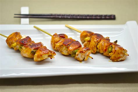 Au Grill yakitori brochettes de poulet au grill loftkitchen