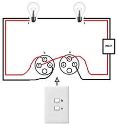 light switch to two lights help nz 240v 12 volt wiring light switches