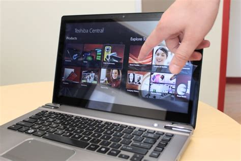 toshiba satellite p845t 14 inch touchscreen added for windows 8