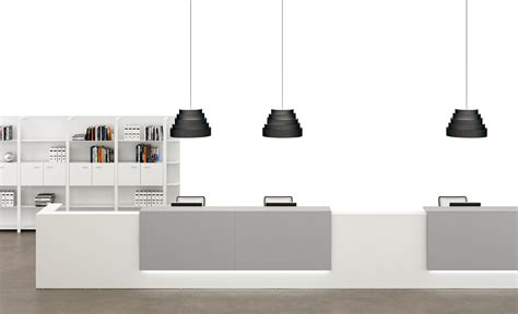 Z2 Reception Desk Z2 Modular Italian Reception Desks From Msl Interiors