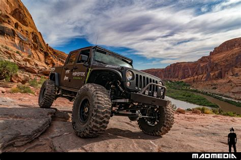 jeep moab truck moab utah with casey currie bfgoodrich tires madmedia