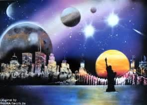 Spray Paint City - city skyline spray paint art photopaper by riensartwork on deviantart