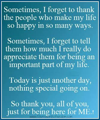 Thank You For Being In My Quotes Quotesgram