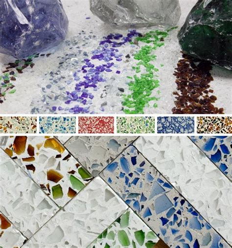 recycled marble countertops recycled glass countertops colorful upcycled surfaces