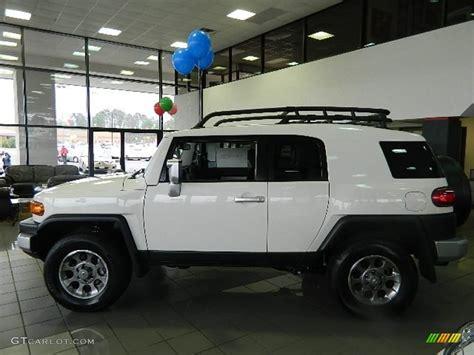 toyota cruiser white white trd fj cruiser autos post