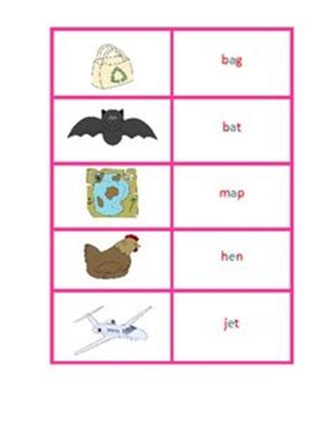 free printable montessori pink cards free montessori pink series word and picture cards