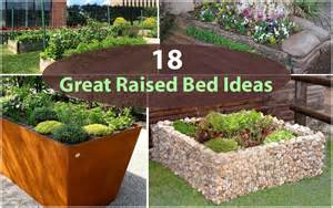 Unique Raised Garden Beds - 18 great raised bed ideas raised bed gardening balcony garden web