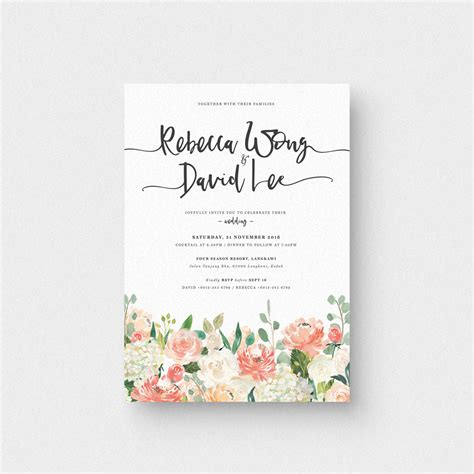 Invitation Letter And Card Floral Letter Ii Invitation Card The Paperpapers