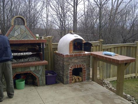backyard wood fired oven pdf diy how to build an outdoor wood burning pizza oven