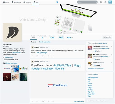 twitter cover photo template psd download video tutorial