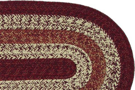 burgundy braided rug new york burgundy braided rug