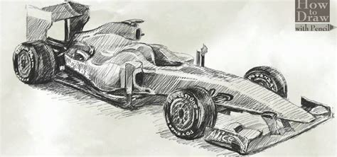 Formula 1 Sketches by How To Draw A Formula 1 F60 171 Drawing