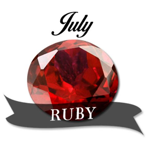 Ruby Birthstone Of July 2 by Madam Kighal S Astrology