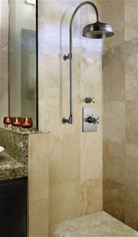 New Showers Designs Shower Column By California Faucets The New Exposed