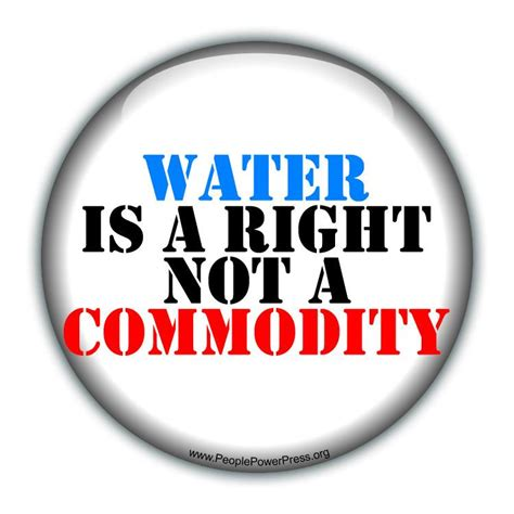 design is not a commodity water is a right not a commodity white water rights