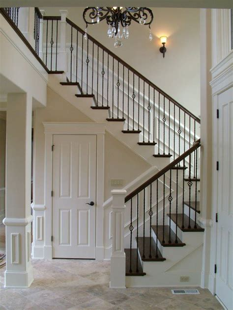 Iron Stair Banister by 25 Best Ideas About Iron Balusters On Iron