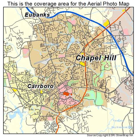 carolina map chapel hill aerial photography map of chapel hill nc carolina