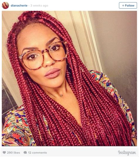 different colors for box braids 16 stunning photos of colored box braids the summer