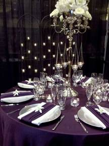 eggplant and silver wedding decorations eggplant purple silver wedding colors images