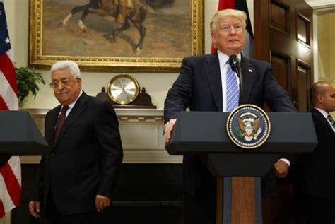 donald trump jerusalem berita trump yakin perdamaian palestina israel tidak sulit