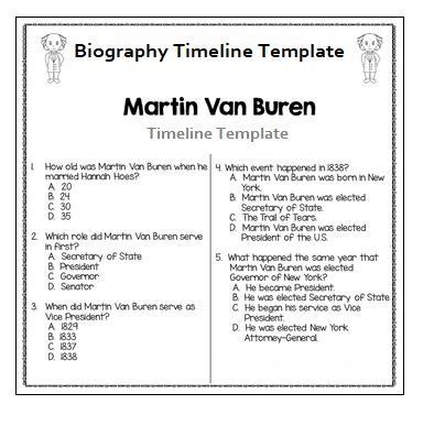 biography timeline exle 4 biography timeline templates free printable pdf