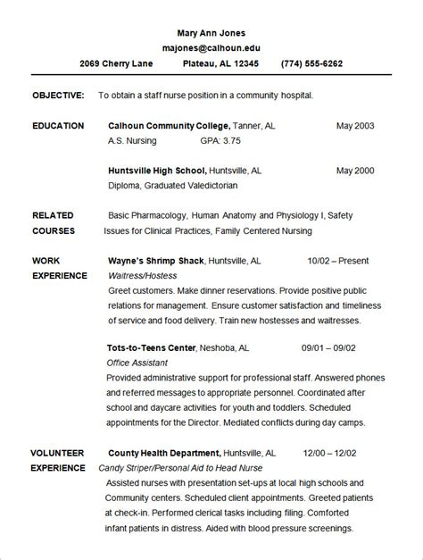 chronological resume template 28 images chronological