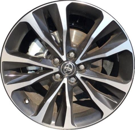 black rims for toyota corolla toyota corolla wheels rims wheel stock oem replacement