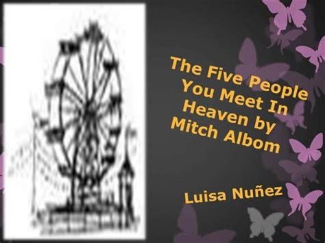 the five people you meet in heaven book report the five people you meet in heaven book report authorstream the five people you meet in heaven tv movie 2004