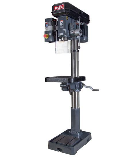 individual setter drills variable speed floor drill press sb 250v dake corp