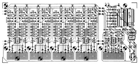 Pcb Mixer Audio disco audio mixer circuit 187 circuitszone