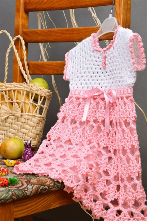 vestido de abanicos para ni 241 a parte 2 la falda vestidos para nina tejido de gancho os traemos modelos