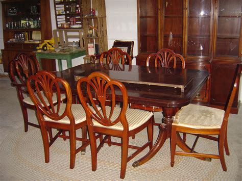drexel dining room table mid century 1960 s drexel furniture company dining room set