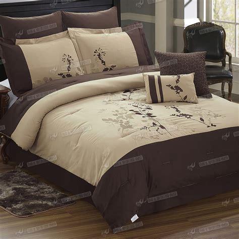 Pattern Queen Sheet Set | 8pc duvet cover comforter set embroidery pattern bed sheet