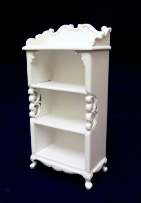dolls house fine miniature nursery furniture shabby chic shelf unit